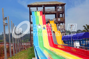 China Rainbow Custom Water Slides of Waterpark for Family Water Game supplier
