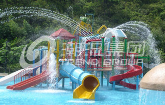 China Water Park Project /  Kids' Water Playground Durable Big Customized Water Slide supplier