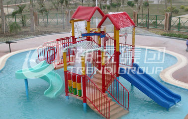 China 6.5 M Kids Water House / Water Playground Equipment for Swimming Pool supplier