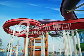 China Easy Installation Fiberglass Water Slides Space Bowl Water Slide For Water Park supplier