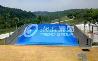 China Attractive Surfing Flowrider Water Ride Extreme Sport Fun 21.7m * 13.4m For Water Park supplier