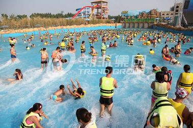 China Attractive Water Park Wave Pool / Aqua Park Wave Pool Equipment supplier