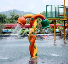 China Customized Funny Spray Park Equipment For Children / Kids in Swimming Pool supplier