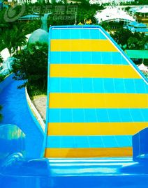 China Fiberglass Swing Water Slide , Water Park Rides Double People By Raft supplier