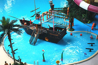 China Sea World Meters Cube-Trend Waterpark Project , Large Indoor Water Wark supplier