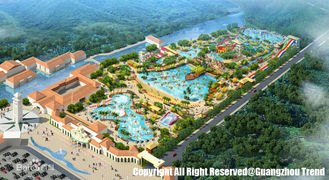China Fiberglass Resort Waterpark Project , Giant Slides Rides Projects for Water Park supplier