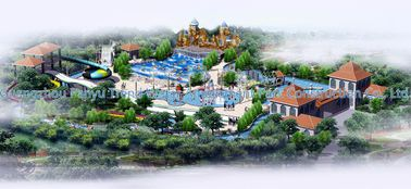 China Waterpark Conceptual Design, Water Parks Design / Customized Water Park supplier