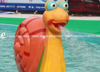China Water Snail Aqua Play Spray Water Playground Equipment For Kids Amusement Park factory