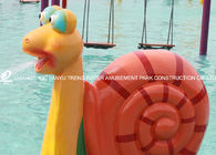 China Water Spray Parks Outdoor Water Play Equipment With Cartoon Animal Shaped factory