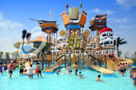 Good Quality Fiberglass Water Slides & Floating Water Playground Equipment Large Theme Hotel Outdoor Water Park on sale