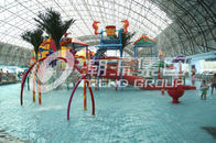 China Swimming Pool Kids Water Parks Mini Interactive Lanes for Water Park factory