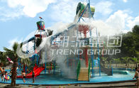 China Exciting Family Water Park in Giantic Waterhouse with Different Style Waterslide factory