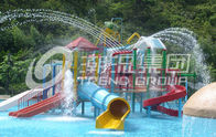 China Water Park Project /  Kids' Water Playground Durable Big Customized Water Slide factory