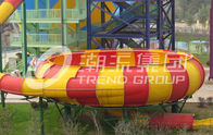China Outdoor Fiberglass Water Slide Games for One Person Per Time , Adult Used in Giant Water Park factory