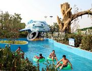 China Giant Lazy Swimming Pool Commercial Water Park Equipment For Family factory