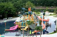 China Summer Outdoor Aqua Park Games Fiberglass Water Park Attractions for Kids factory