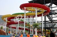 China Large durable Custom Water Slides / playground water play equipment factory