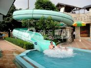 China Adult Custom Water Slides , Galvanized carbon steel Water park equipment factory
