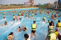 Good Quality Fiberglass Water Slides & Attractive Water Park Wave Pool / Aqua Park Wave Pool Equipment on sale