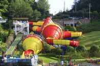 China Huge Fiberglass Water Slides Tantrum Valley For Teenagers / Water Park Equipment factory