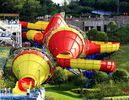 Good Quality Fiberglass Water Slides & Ashland / DSM Resin Fiberglass Water Slide Tantrum Valley Water Park Rides 16m on sale