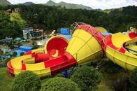 Good Quality Fiberglass Water Slides & Customized Fiberglass Classical Tantrum Valley Water Park Rides 1 Year Waranty on sale