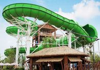 China Large durable Custom Water Slides / Profitable water amusement play equipment for families by raft or body factory