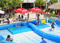 China Outdoor Aqua Play Flowrider Water Ride For Skateboarding Surfing Sport factory