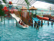 China Indoor / Outdoor Aqua Park Equipment, Kids' Water Playground For Family Fun Customized company