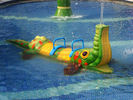 China Spray Crocodile Aqua Play, Water Sprayground Equipment, Aqua Park Equipments factory