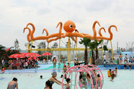 China Customized 8m Height Octopus Spray  For Aqua Water Playground Equipment factory