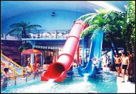 China Indoor / Outdoor Fiberglass Water Slides Games For Kids / Family Holiday Resort factory