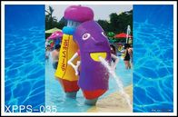 China Fiberglass, PVC Kids Recreation Waterpark Equipments, Pencil Spray Park Equipment company