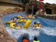 China Swimming Pool Equipment Water Park Lazy River For Children / Family Fun Amusement Park factory