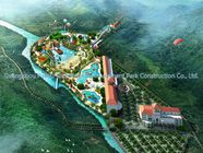 China Amusement Water Park Conceptual Design / Professional Design Team for Water Park factory
