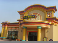 China Customized Theme Park Projects , Water Park Construction With Fiberglass Material factory