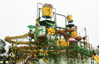 China Big Water House, Aqua Playground Equipment, Steel Aquatic Play Structures factory