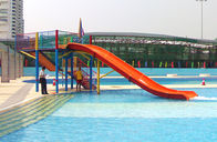 China Mini Water Park Equipment Fiberglass Swimming Pool Slide For Kids Playground factory