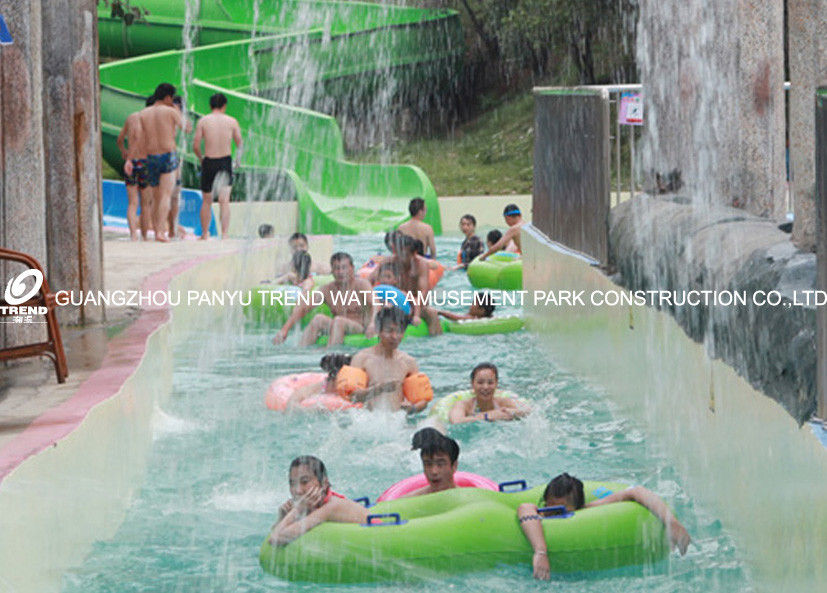 Giant Lazy River Swimming Pool Commercial Lazy River Equipment For Family