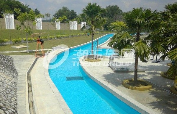 Swimming pool equipment water park lazy river for children for Gardens pool supply