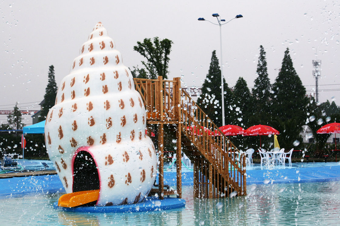 Family Aqua Park Resorts Swimming Pool Commercial Water Slide For Kids