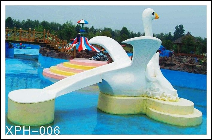 Commercial fiberglass water pool slides with interesting - Commercial swimming pool water slides ...