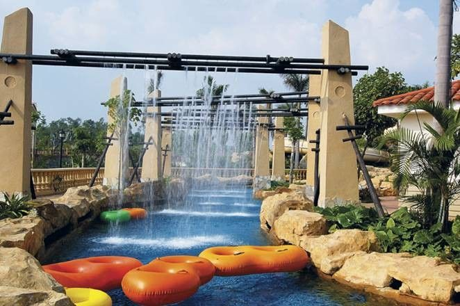 Water Park Lazy River Equipment, Water Games Playground