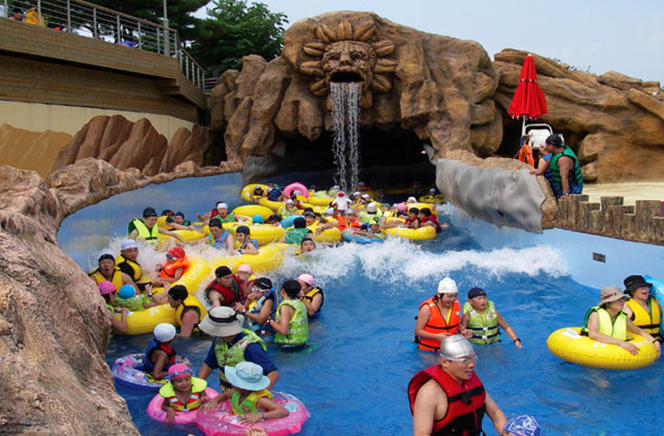 Customized Large Water Park Lazy River Water Park Amusement