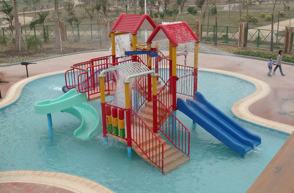 Parent-child theme play station equipment, kids' water park playground