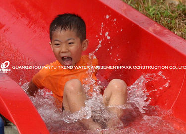 China Customiazed Kids Fun Water Slide for Water Park / Fiberglass Water Park Equipment factory