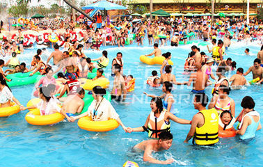 Huge Air Compressor Power Wave Pool with 3m Wave Height for Large Water Park