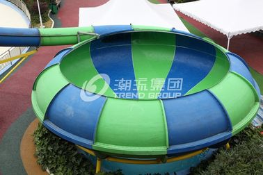 China Theme Park Slides Space Bowl Water World Water Playground Equipment for Resorts / Hotel factory