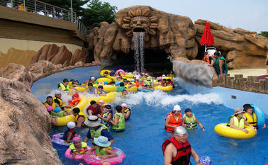 Outdoor Holiday Resorts Water Park Lazy River, Waterpark Equipment