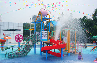 Outdoor Commercial Safe Fiberglass Kids' Water Playground Water House for Aqua Park